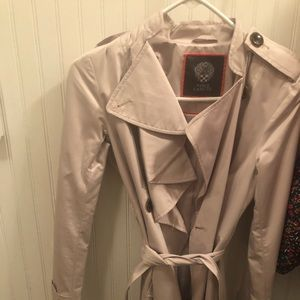 Vince Camuto beige trench coat. Great condition